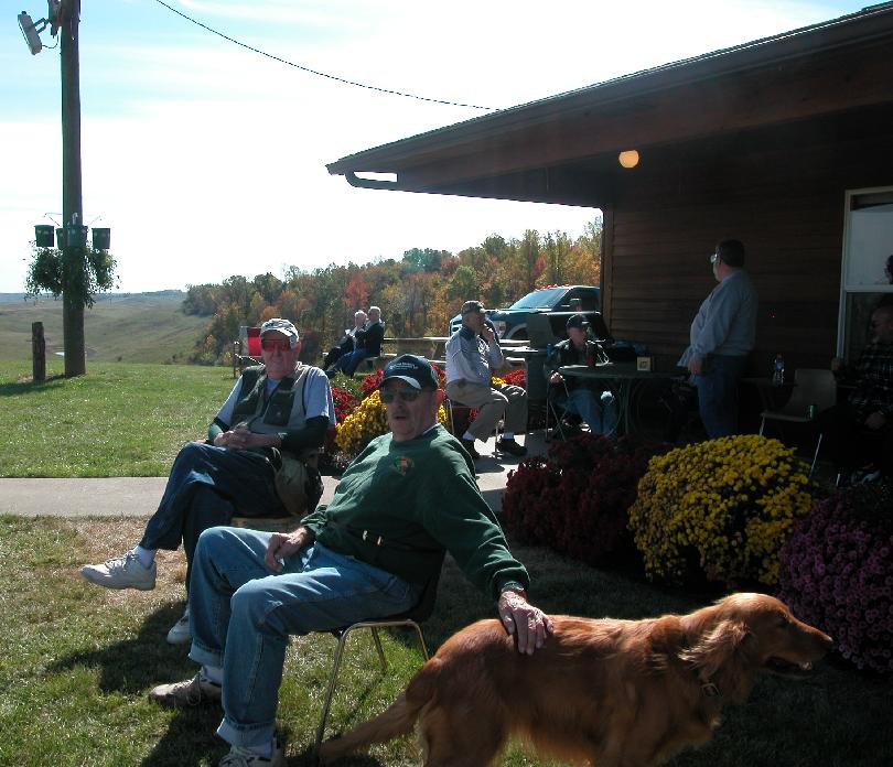 Relaxing At Morgan County Gun Club